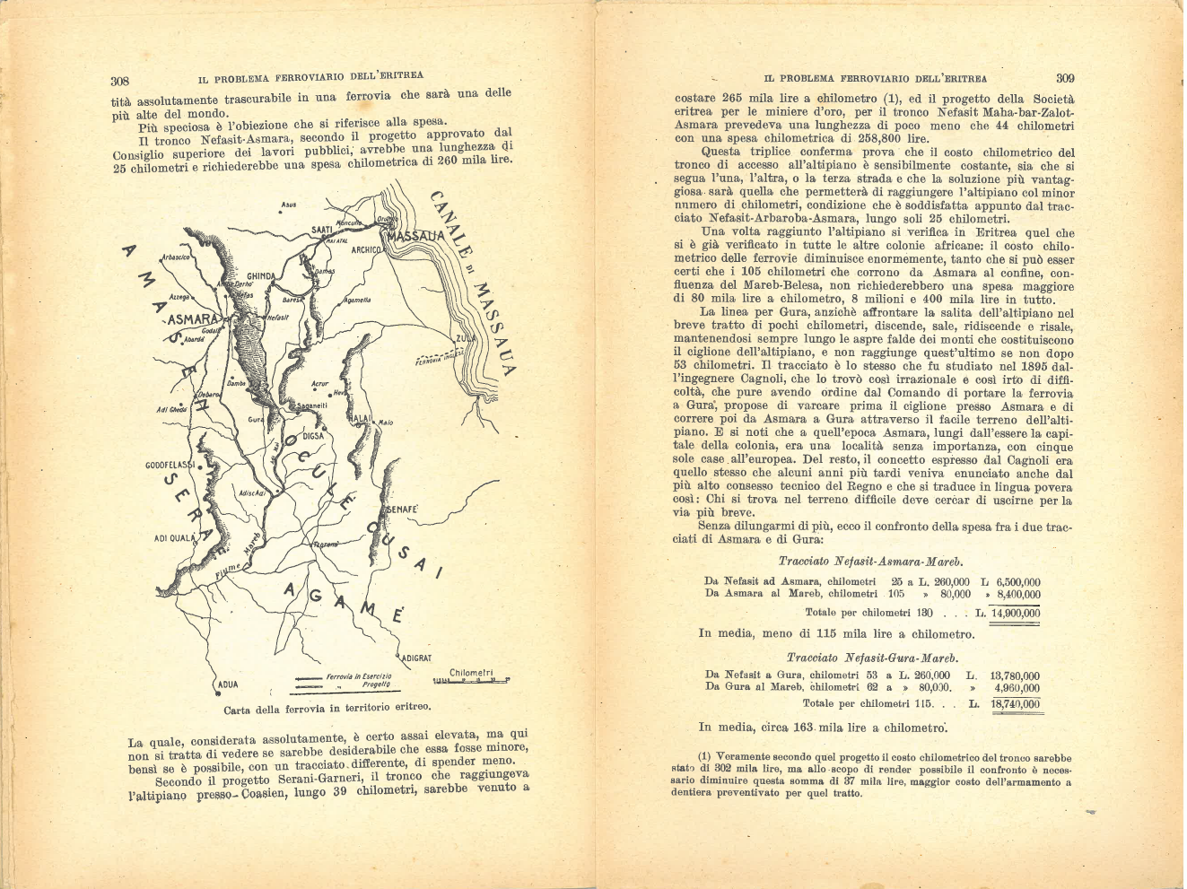 Il problema ferroviario dell'Eritrea #11