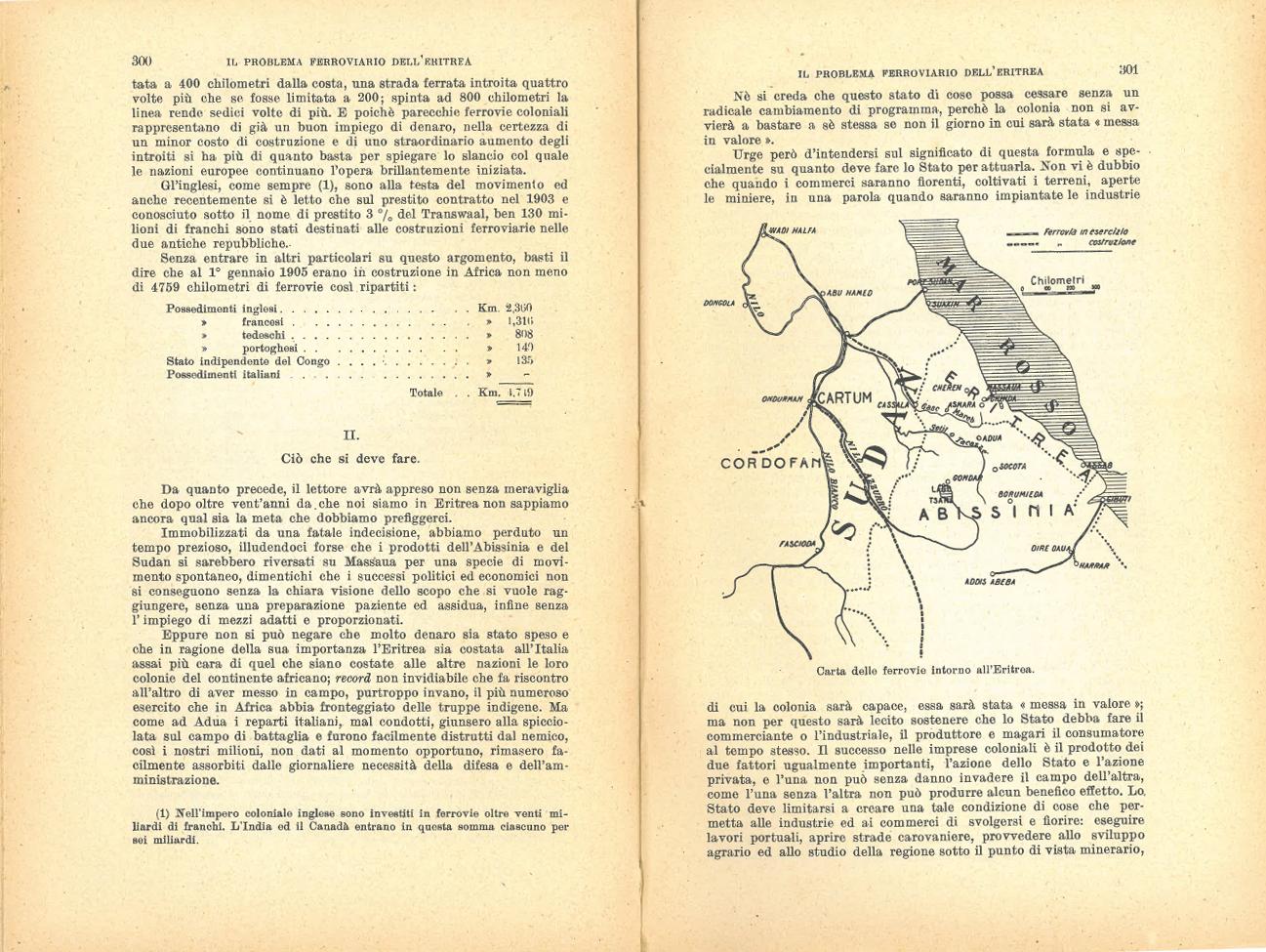 Il problema ferroviario dell'Eritrea #7